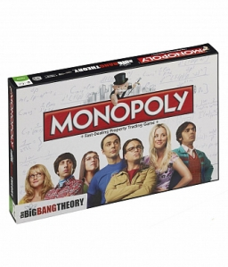 Настільна гра Monopoly The Big Bang Theory (24037)