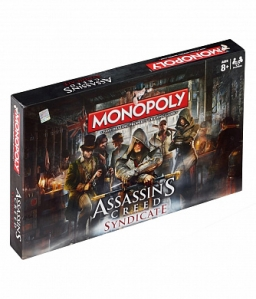 Настільна гра Monopoly Assassins Creed Syndicate (25768)