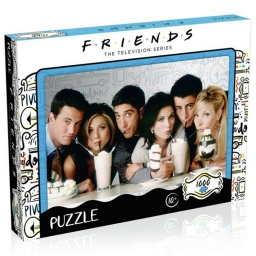 Пазл 1000 Piece Jigsaw Puzzle Friends Milkshake